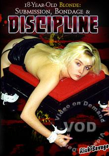 18-Year-Old Blonde Submission, Bondage & Discipline Box Cover
