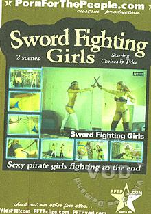 Sword Fighting Girls Box Cover