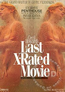 Cecil Howard's Last X-Rated Movie Box Cover