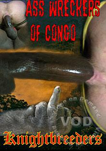 Ass Wreckers Of Congo Box Cover