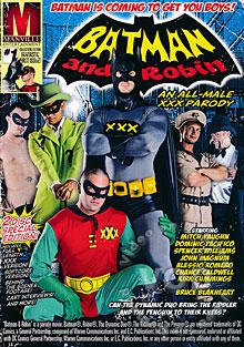 Batman And Robin - An All-Male XXX Parody