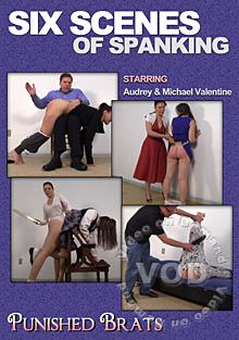 Six Scenes Of Spanking Box Cover