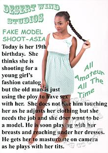 Fake Model Shoot - Asia