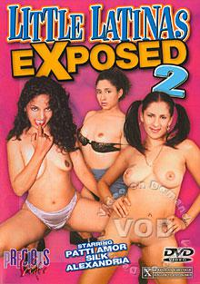 Little Latinas Exposed 2 Box Cover